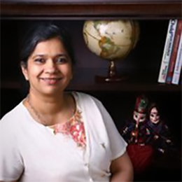 Photo of Jyotsna M. Kalavar, Ph.D.